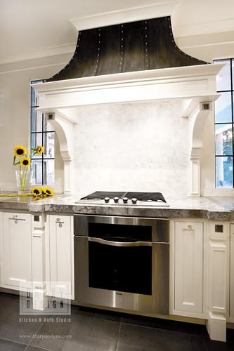 Drury design kitchen bath studio traditional white kitch - Drury design kitchen bath studio ...