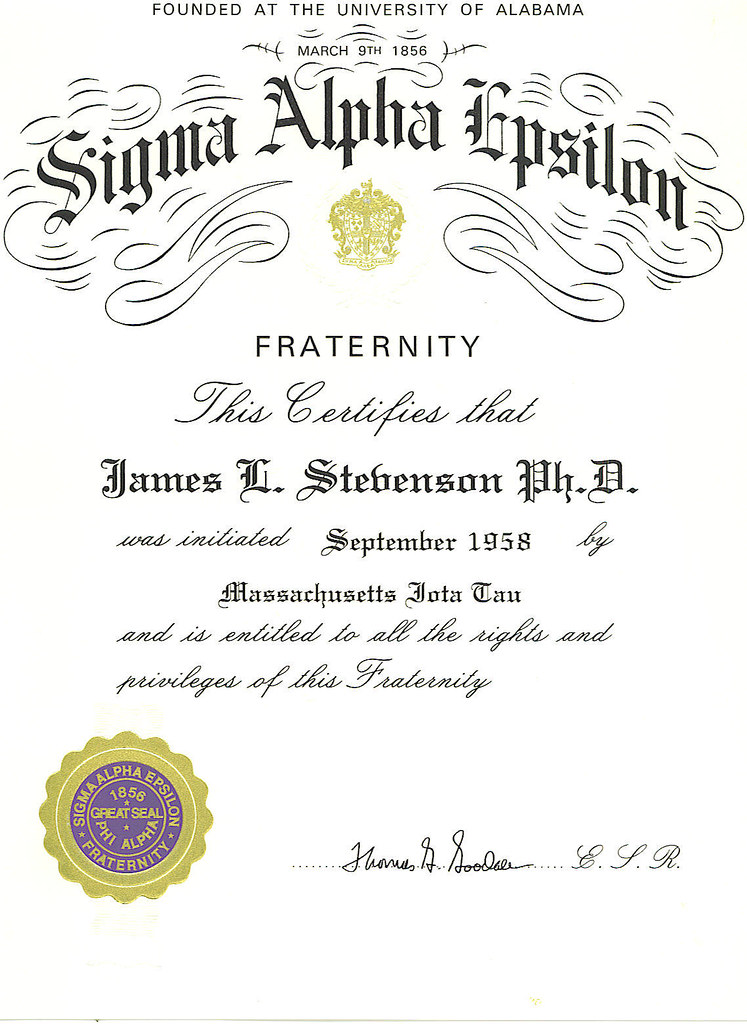 Fraternity Certificate Templates Image Gallery - Hcpr