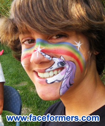 Unicorn Face Painting Brenda Bourges Flickr