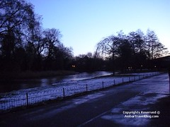 Frozen Lake In Regents Park | by ambarhamid