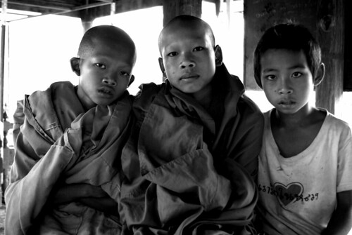 Young Monks | by The Hungry Cyclist