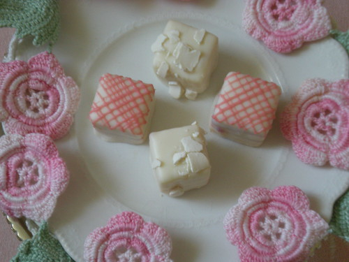 ~Petits Fours on a Pedestal~ | by ~Romantic~Vintage Home~