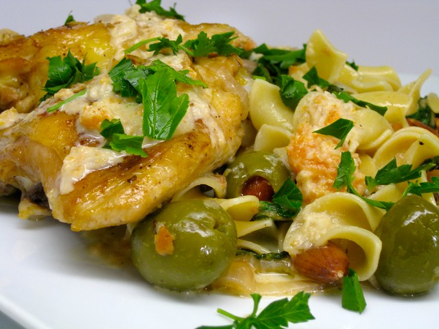 chicken w/sherry vinegar | foodalogue.com 2010 | Joan Nova | Flickr