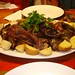 Roasted Lamb Shoulder with Baby Artichokes