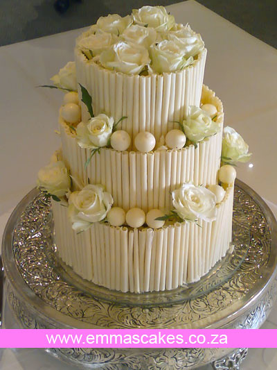 White Lindt Chocolate Cake