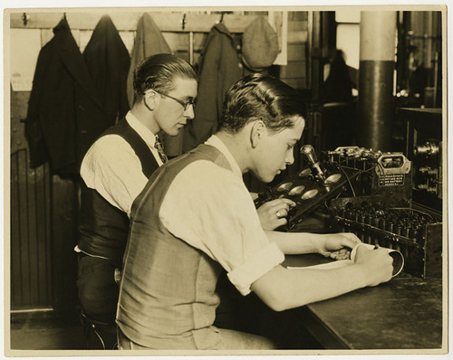 Vocational guidance, Hebrew Technical Institute, circa 1920 | by Center for Jewish History, NYC