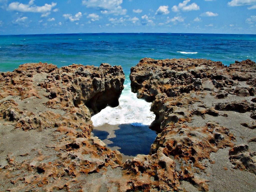 Blowing Rocks Nature Preserve Jupiter Island Florida Flickr