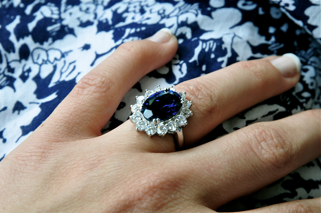 ... My Birthday Present (replica Engagement Ring Princess Diana U0026 Kate  Middleton) | By Lisa