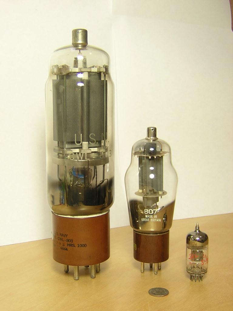 803 Vacuum Tube Size Comparison