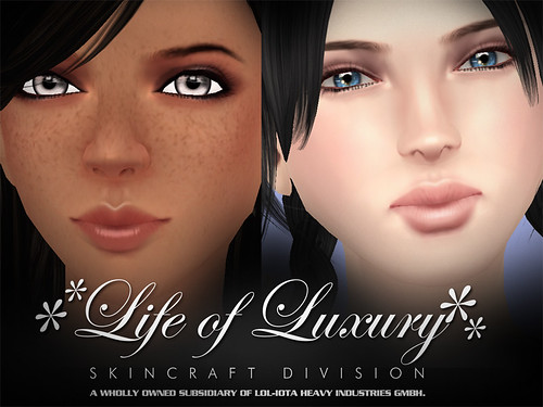 "✻✻LIFE of LUXURY✻✻ Eloh Eliot Gorgeous Masterskinworks Skin Collection 2008-2009 ""The Free ♥♥♥ Spirit of Gradient Mesh Years"" (Female) 