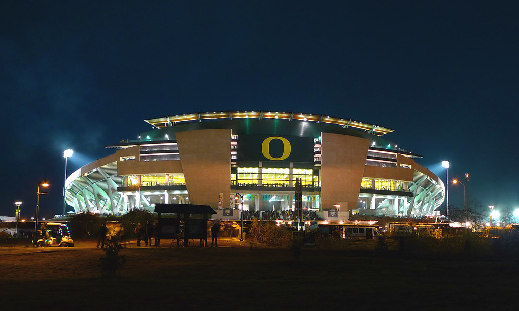 Autzen Civil War 2009 Autzen Stadium During The Civil