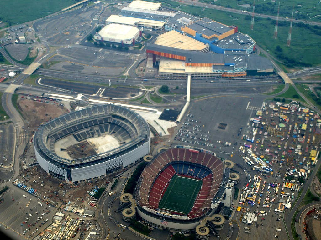 Meadowlands Sports Complex And Entertainment Facility New