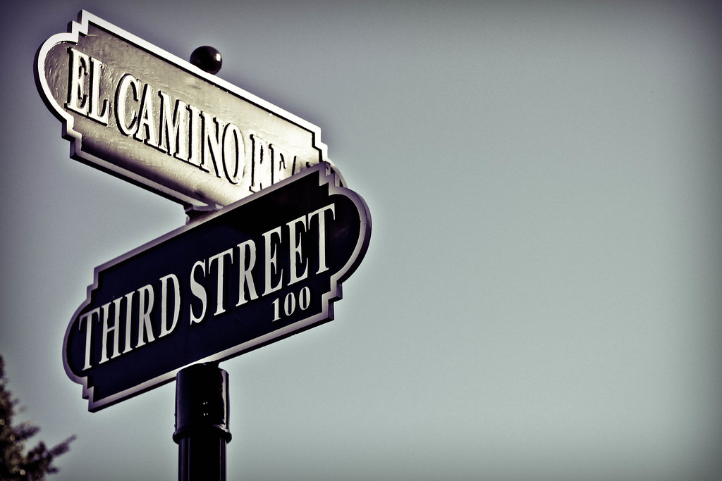 Old Fashioned Street Signs