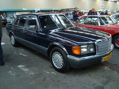 1986 mercedes benz 420 sel 11 december 2009 utrecht for Mercedes benz 1986