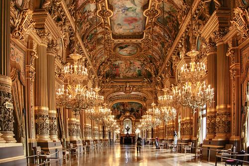 Ballroom In Palais Garnier Opera House Paris I Just Had T Flickr