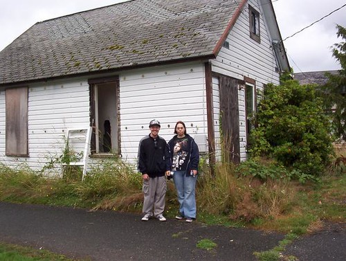 Me And My Boyfriend In Front Of One Of Kurt Cobain S House