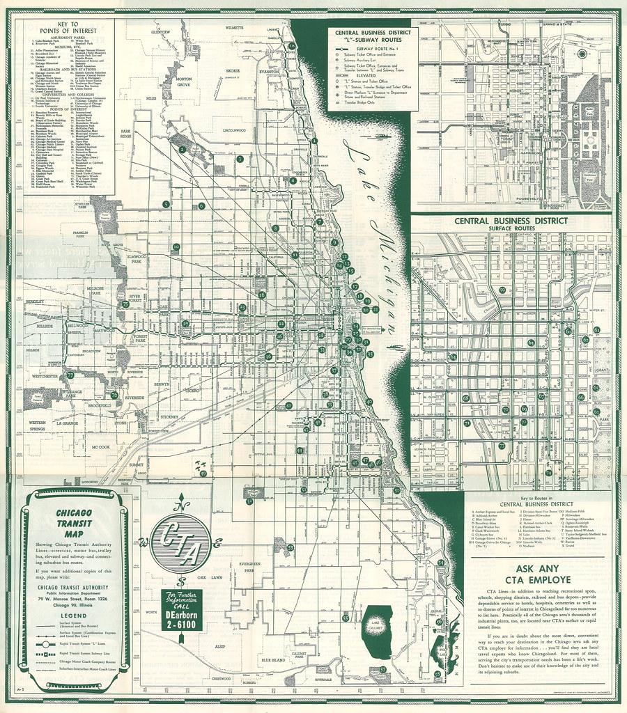 4325415005_faf4af350a_b cta chicago transit map (1948) chicago transit map showing flickr