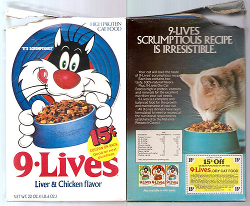 Sylvester Cat Food
