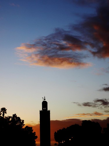 Marrakech, the Koutoubia at sunset | by Carlo Tancredi