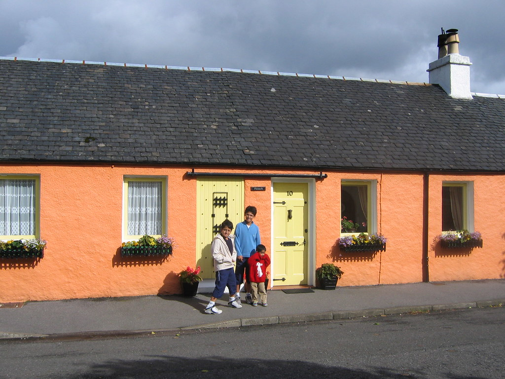 """Spencer's House in """"What's The Story in Balamory ..."""
