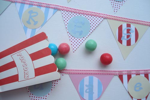 Pretty Parties: Paper Flag Banners | by such pretty things