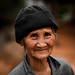 Old Thai woman, near Chiang Rai