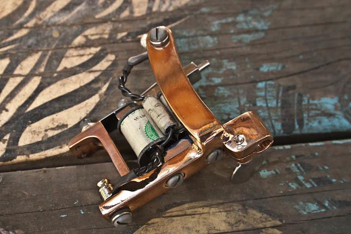 Brass Amp Nickel Shader X Tattoo Machine Bulldog Style Fram