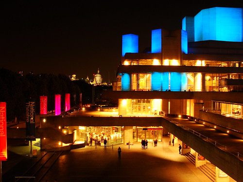 The National Theatre in London at night | by Ben Sutherland