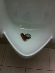 Urinals are not for sausages. | by passiveaggressivenotes