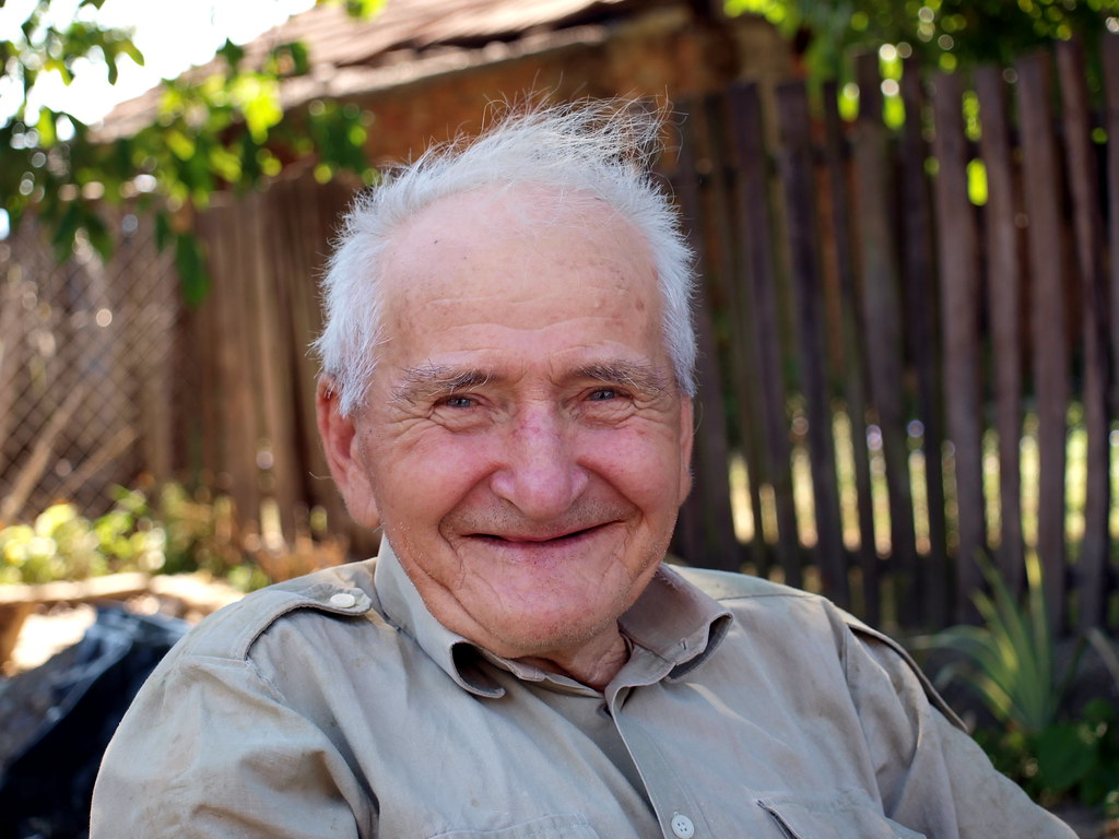 Image result for smiling old man