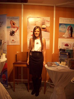 Me at Fuengirola Wedding Show | by Sunset Beach Club