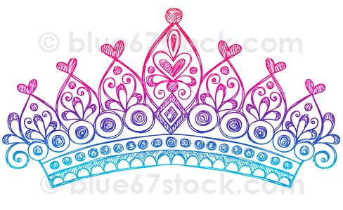 hand drawn sketchy princess tiara crown doodle drawing vec mobile victorian ovens mobile vectors wallpaper