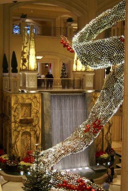 Las Vegas Venetian Hotel Christmas Decor Andwhatsnext Flickr