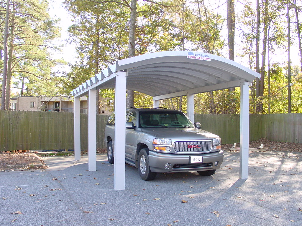 Steelmaster steel single car carport steelmaster steel 1 car carport