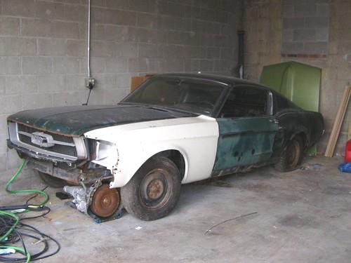 Fastback Mustang Restoration my 1967 Fastback Mustang Pre