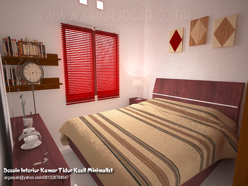 desain interior kamar tidur kecil minimalist email