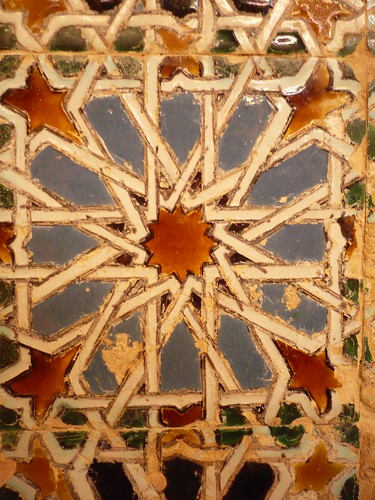 Islamic tile from Seville | by Mike Eddie Jousiffe