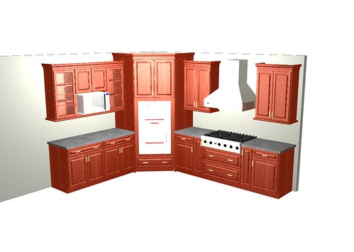 Wip Corner Double Oven Kitchen Just Started Working On