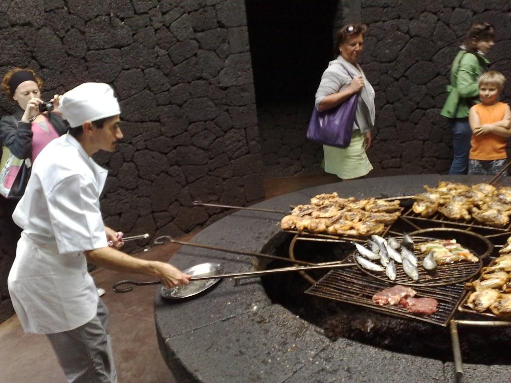 El Diablo Restaurant Lanzarote Menu