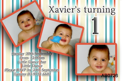 first and 1st birthday party invitations first birthday st flickr