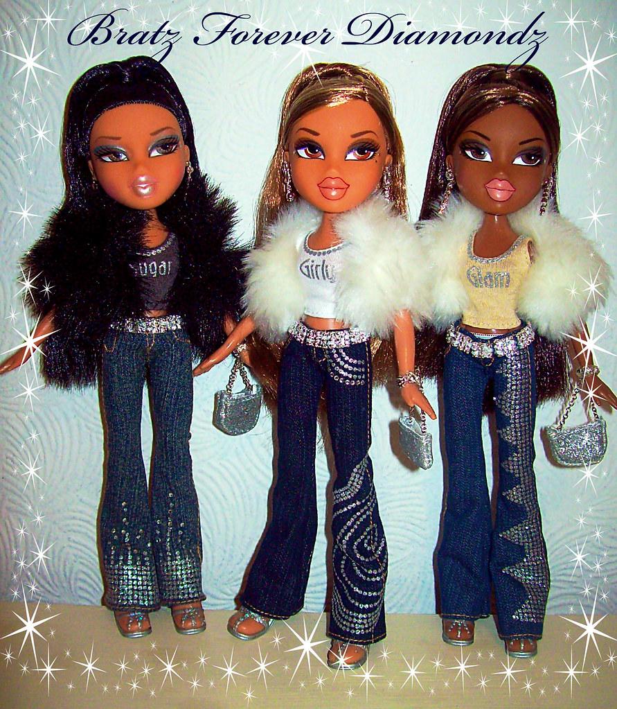 Bratz Forever Diamondz   Jade, Yasmin & Sasha! I just need ... Bratz Diamondz Sasha