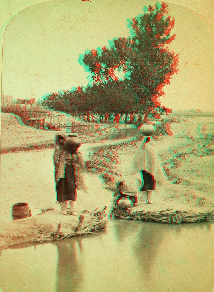 Eyeglass Frames Santa Fe Nm : Gathering Water, New Mexico ANAGLYPH, conversion of ...