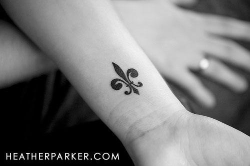 Fleur De Lis Tattoo I Want Lindsey Jean Flickr