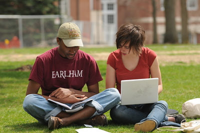 Studying on the Heart | by Earlham College