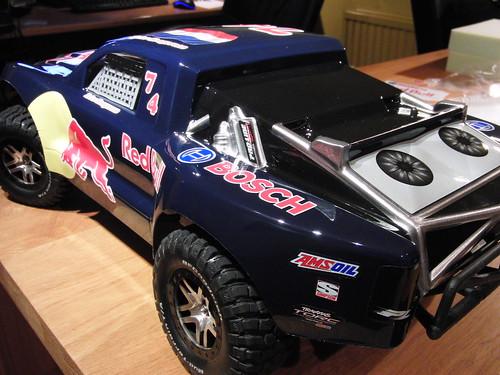 Traxxas Slash 4x4 Red Bull Proline Hardcore With Custom