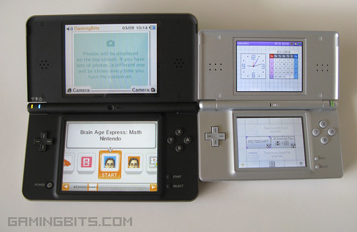 nintendo dsi xl bronze vs nintendo ds lite from gamingb flickr. Black Bedroom Furniture Sets. Home Design Ideas