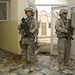 South Carolina Guardsmen provide security at a hospital in Afghanistan