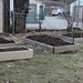 new and old raised garden beds
