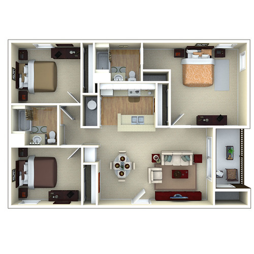 4483959707 on 3bedroom floor plans