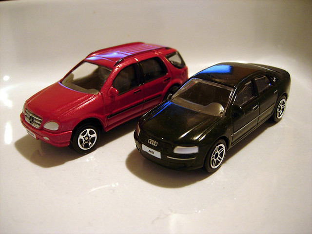 Realtoy 164 Mecedes Ml And Audi A8 Sam Flickr